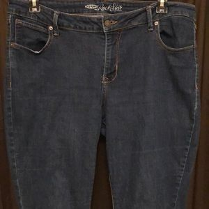 Old Navy Rock star jeans size 18